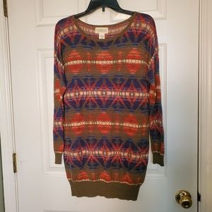 NWT Denim & Supply Ralph Lauren Aztec Sweater